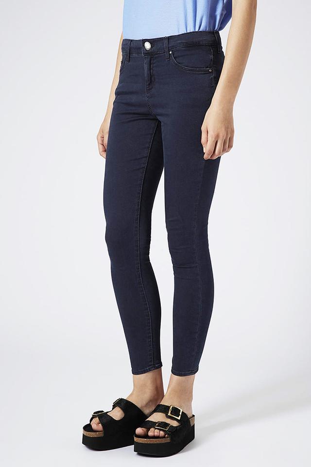 Topshop Blue-Black Jamie Jeans
