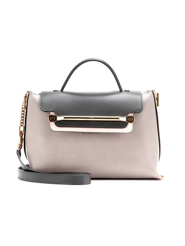 Chloe Clare Medium Leather Shoulder Bag