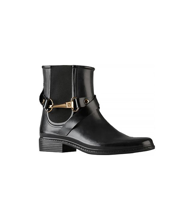 Burberry Equestrian Buckle Chelsea Rain Boots