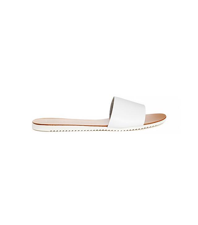 New Look Fool Pool Leather Slider Sandals