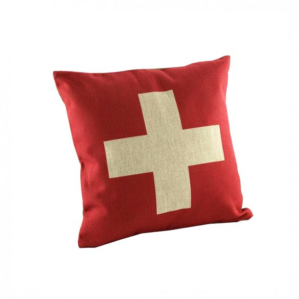 ebay Red Cross Cushion Cover