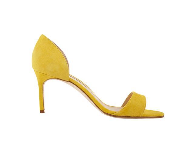 Manolo Blahnik Catalina D'Orsay Sandals