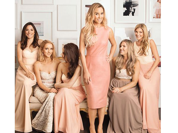See the Bridesmaid Dresses Lauren Conrad Designed for Her Wedding