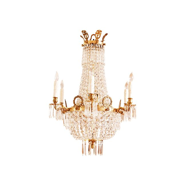 1st Dibs French Empire Belle Epoque Chandelier
