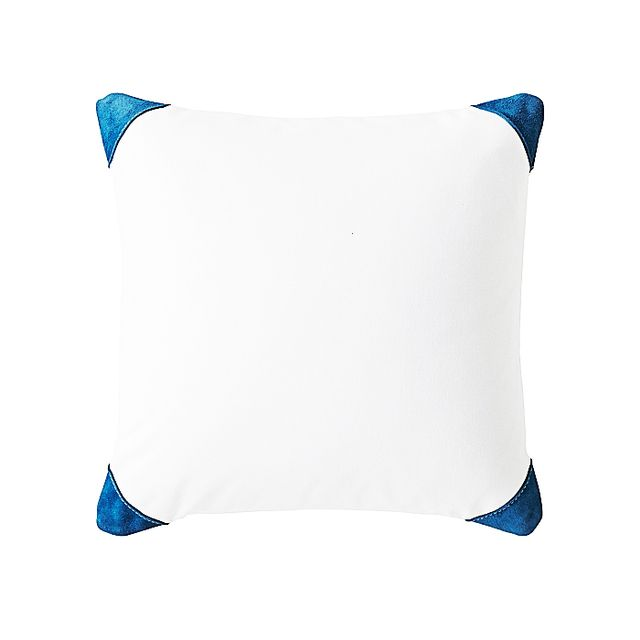 Serena & Lily Suede Cap Pillow Cover
