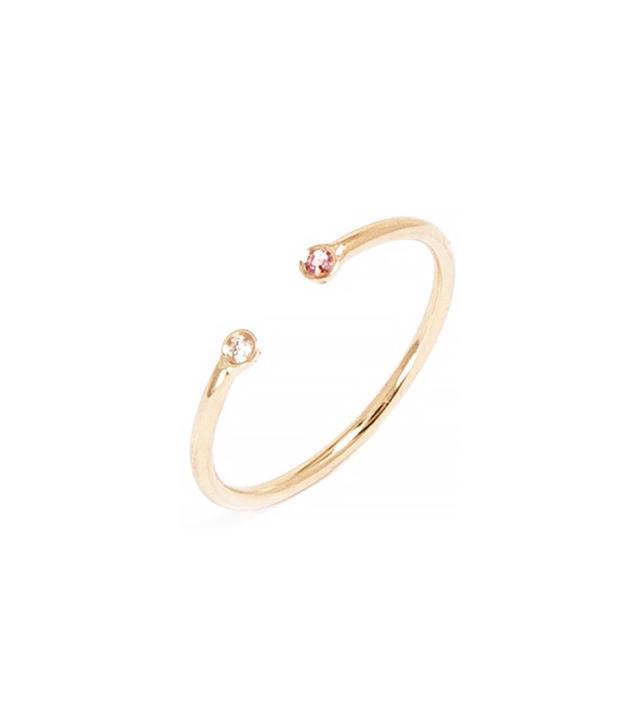 Ariel Gordon Dual Birthstone Ring