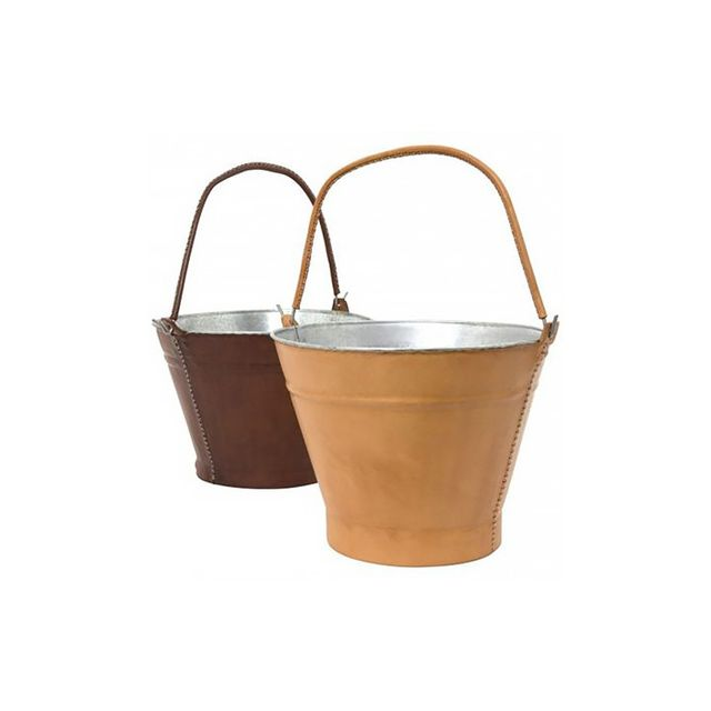 Jayson Home Leather Buckets