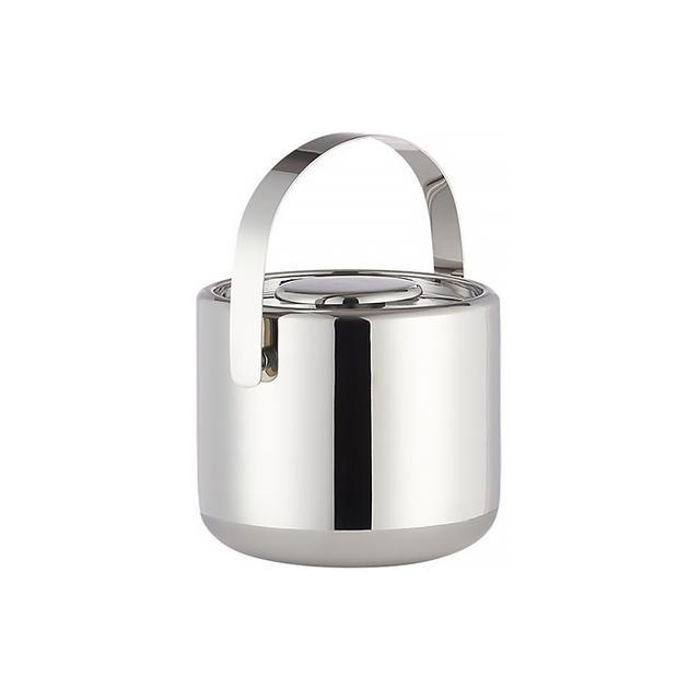 CB2 Duke Stainless Steel Ice Bucket