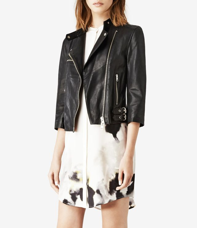 All Saints Turne Leather Biker Jacket