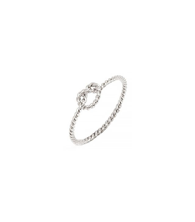 BaubleBar Nautical Knot Ring