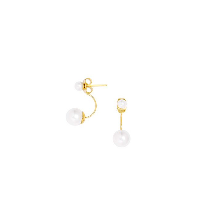 BaubleBar Suspension Pearl Drop Earrings