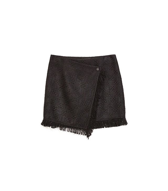 Zara Jacquard Miniskirt