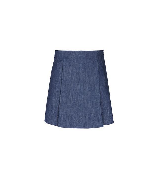 Victoria Beckham Denim Skirt