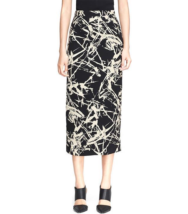 A.L.C. Bell Print Skirt