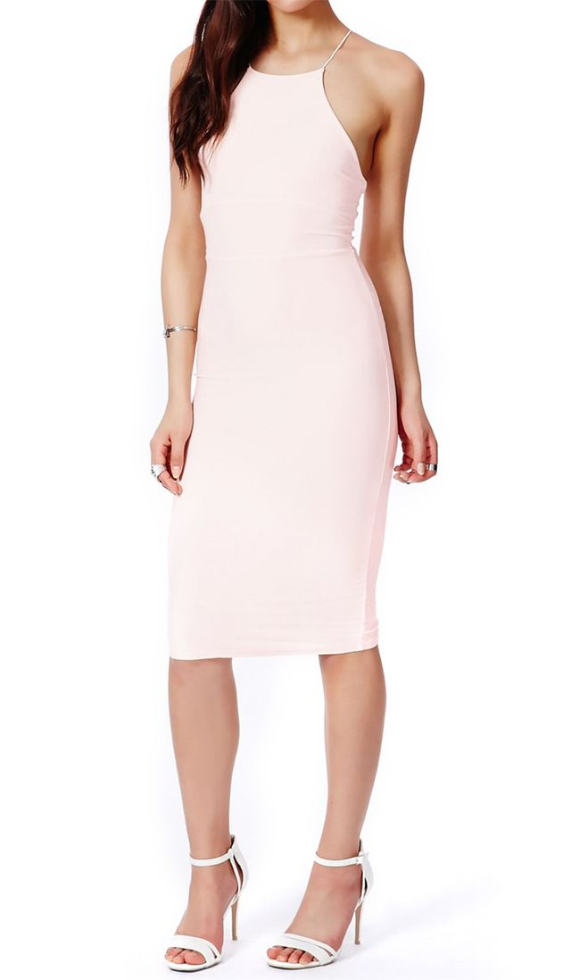 Missguided Sienna Slinky Dress