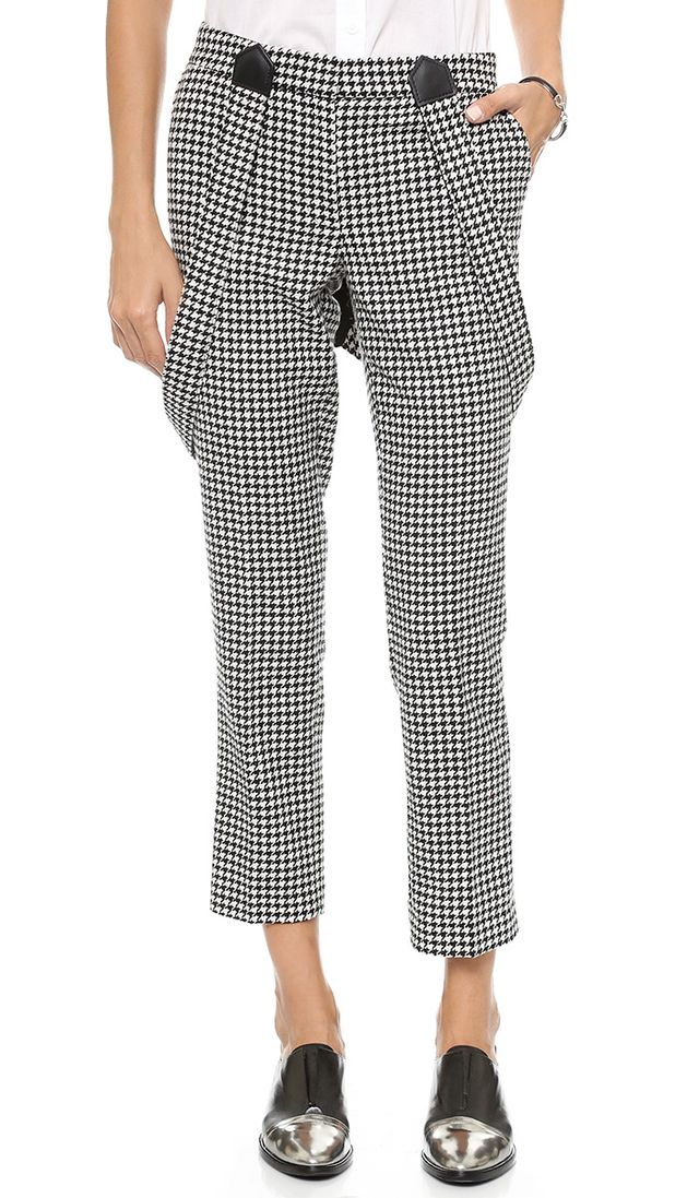 Rachel Zoe Cigarette Pants with Suspenders