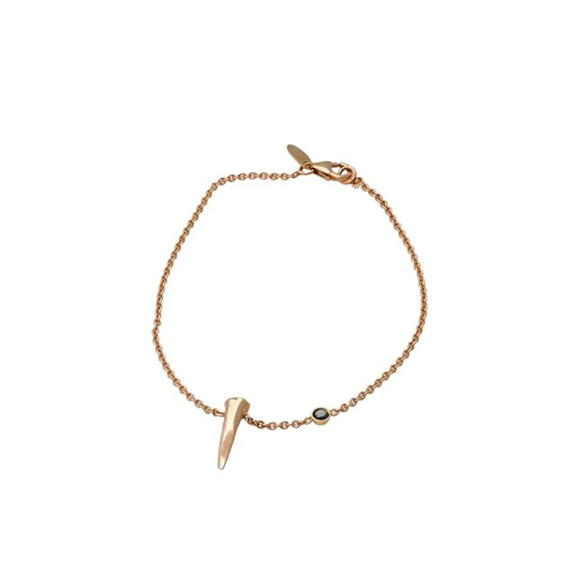 Skyler Man Shark Tooth Rose Gold Bracelet