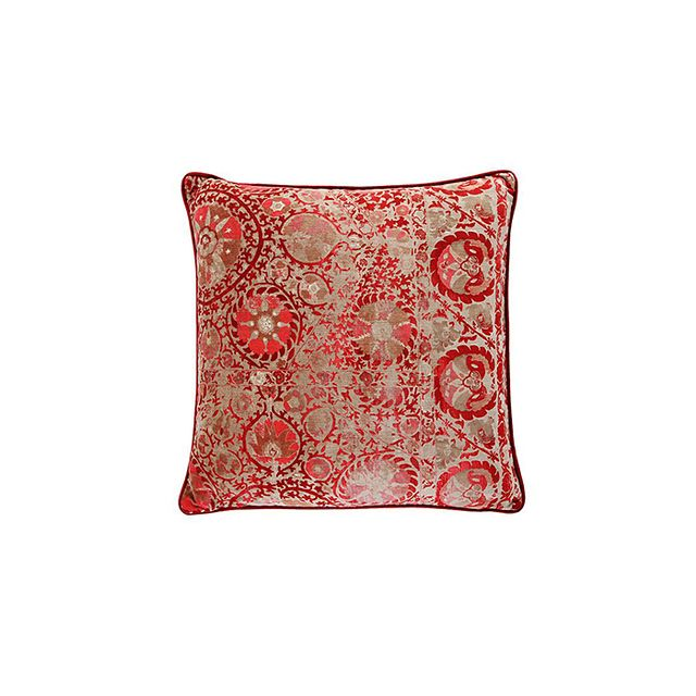 Andrew Martin Iznik Red Cushion