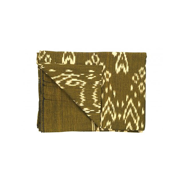 Jayson Home Bronze Ikat Throw