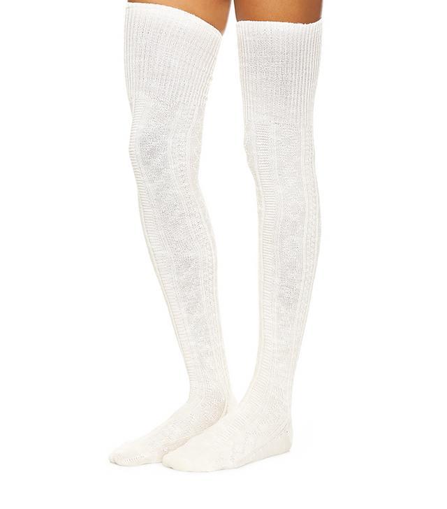 Free People Pioneer Thigh High Socks