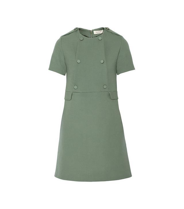 Paul & Joe Pamphyle Wool-Blend Mini Dress