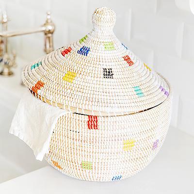 First Look: Lauren Conrad's New Handmade Basket Collection
