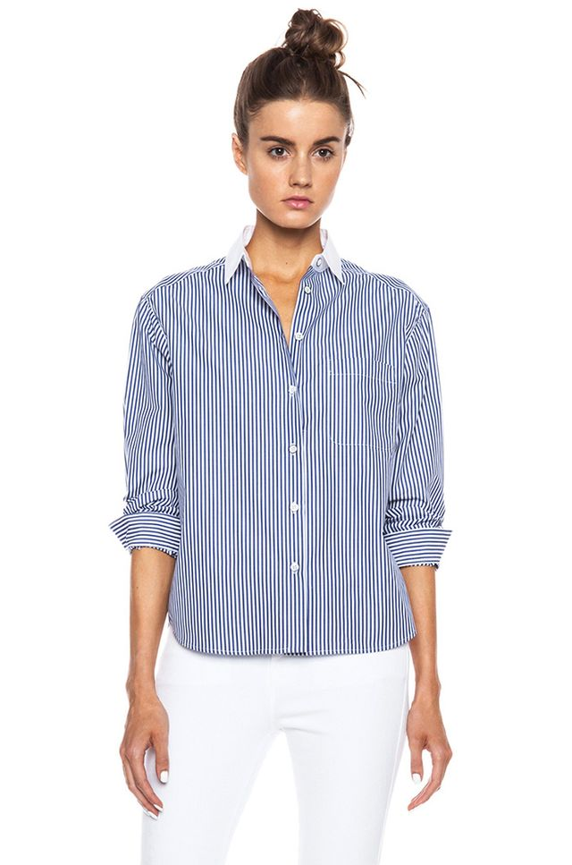 Rag & Bone Jo Anne Cotton Shirt