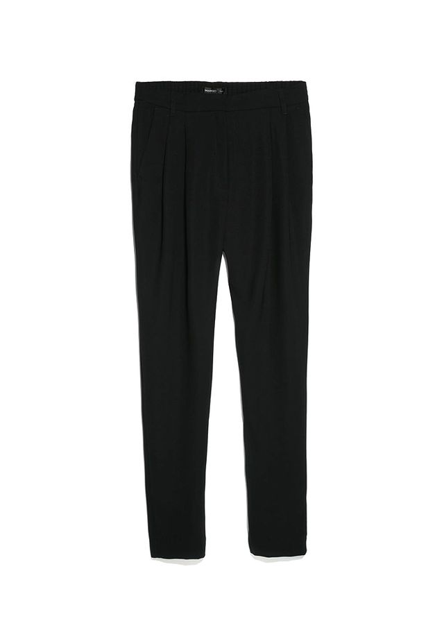 Mango Crepe Baggy Trousers