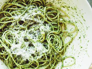 Your New Go-To Pesto Spaghetti Recipe