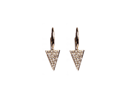 Liv Haley Spike Drop Earrings