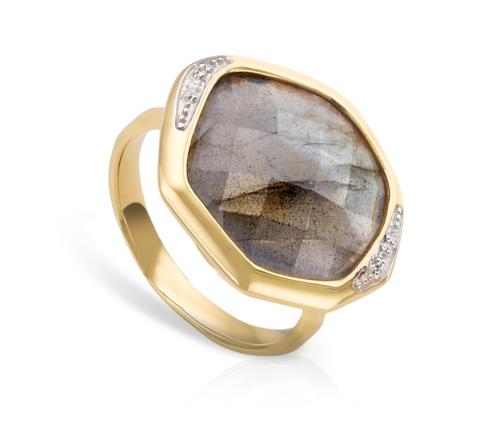 Monica Vinader Riva Diamond Cocktail Ring