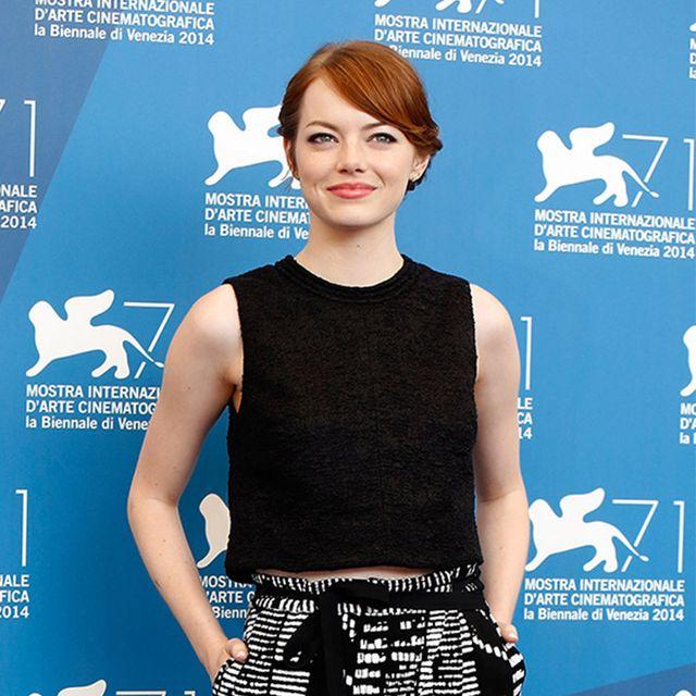 Emma Stone Brings Her Chic Fashion Sense to the Venice Film Festival