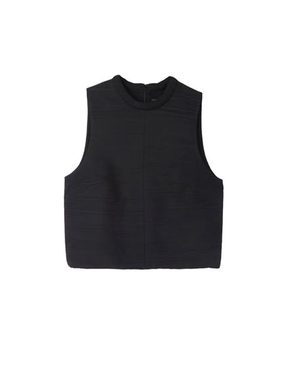 Proenza Schouler Crinkled Crop Top