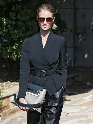 Would You Try Rosie Huntington-Whiteley's Fresh Take on the Power Suit?