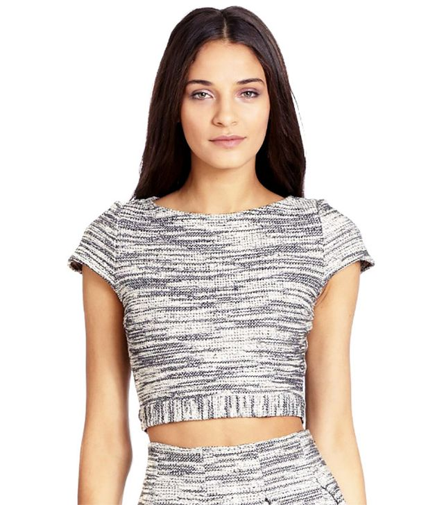 Alice + Olivia Elenore Crop Top
