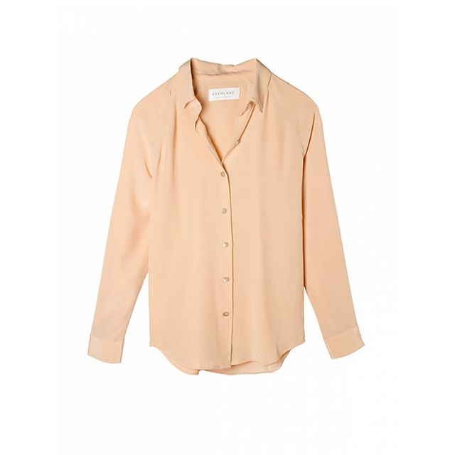 Everlane The Silk Point Color Shirt
