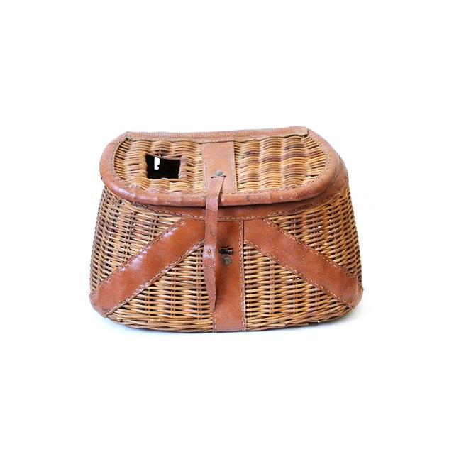 Etsy Vintage Fishing Basket