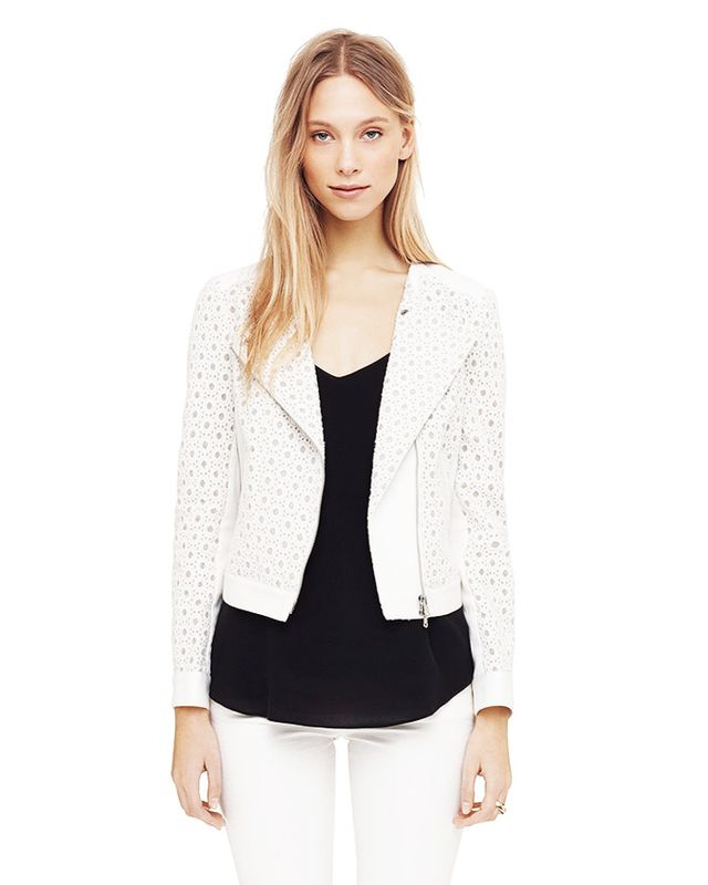 Club Monaco Casey Lace Moto Jacket