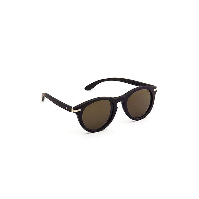 Waiting for the Sun Essential Bamboo Round Sunglasses