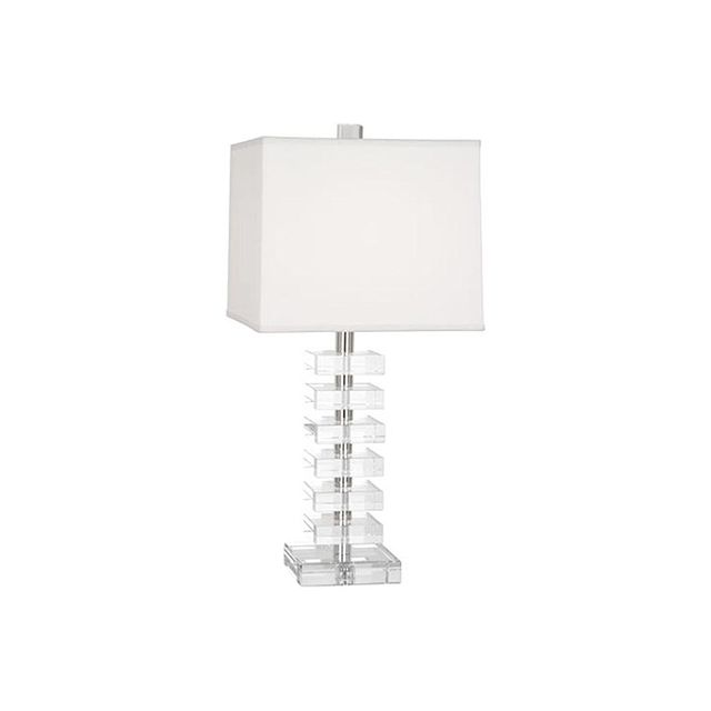 Robert Abbey Irene Table Lamp with Lead Crystal