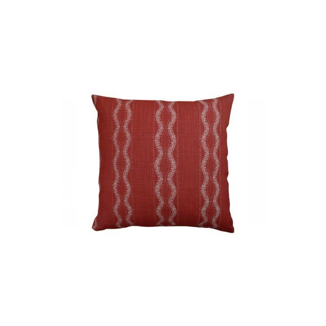 Hollywood at Home Zanzibar Red Pillow