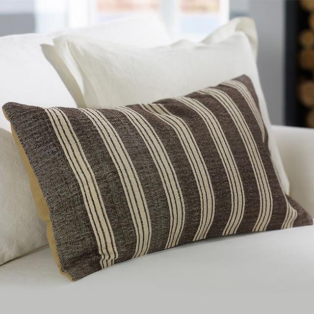 Pottery Barn Sebastian Stripe Pillow Cover
