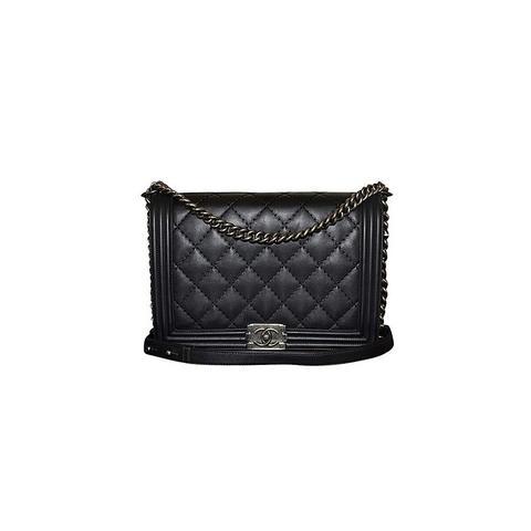 Le Boy Leather Calfskin Bag