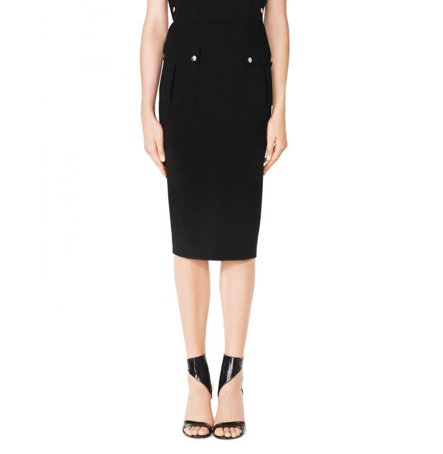 Tamara Mellon Skirt with Patch Pockets