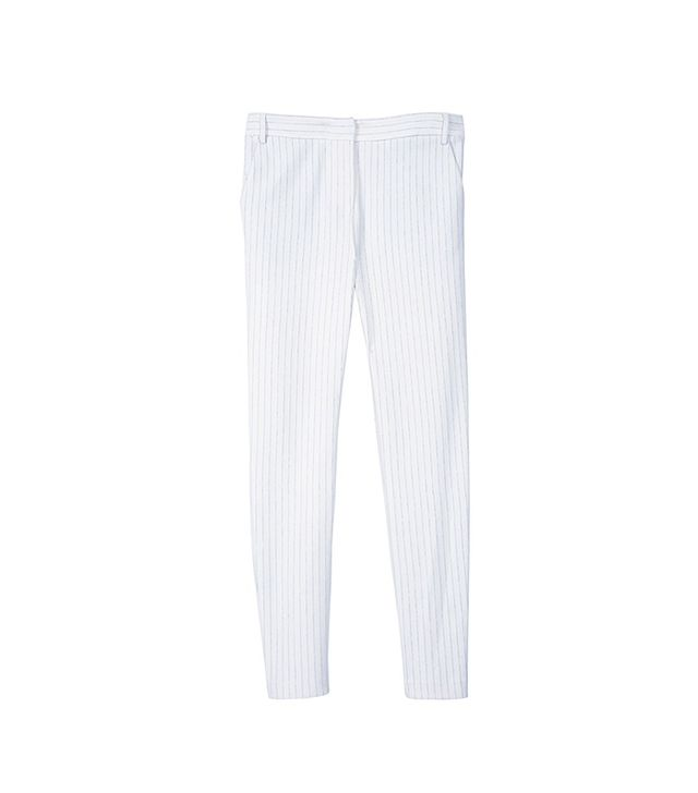 Tibi Akira Pinstripe Slim Pants