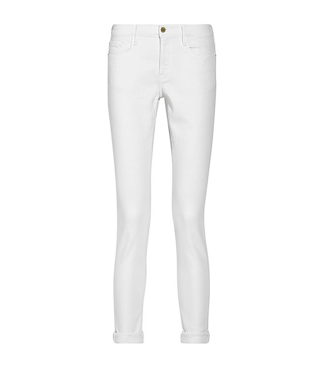 Frame Denim Le Garcon Mid-Rise Slim Boyfriend Jeans