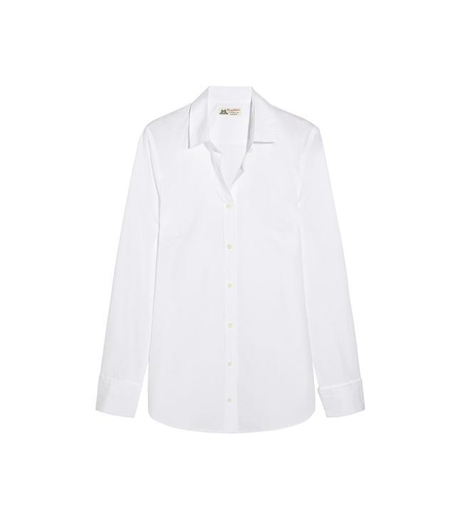 J.Crew + Thomas Mason Boy Cotton-Poplin Shirt