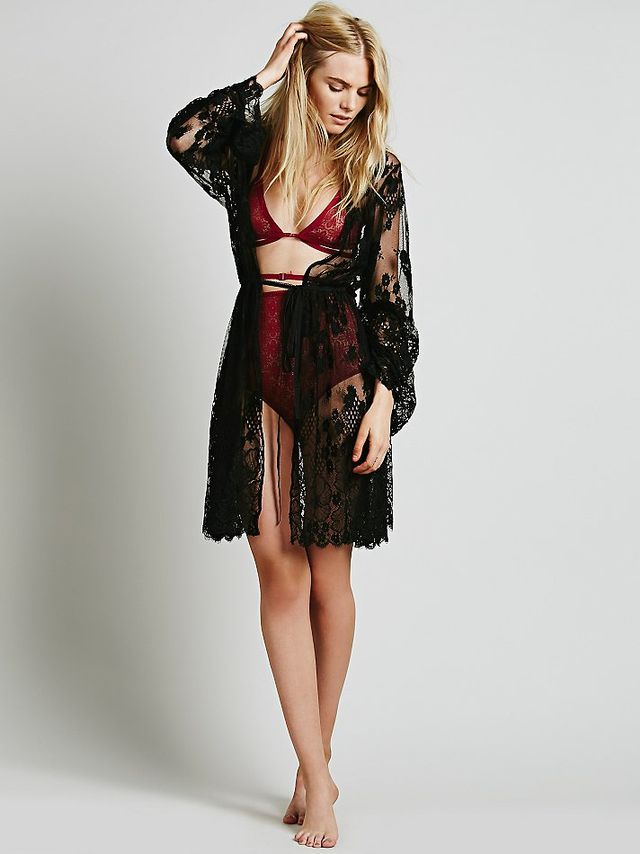 SKIVVIES by For Love & Lemons Bomb Robe