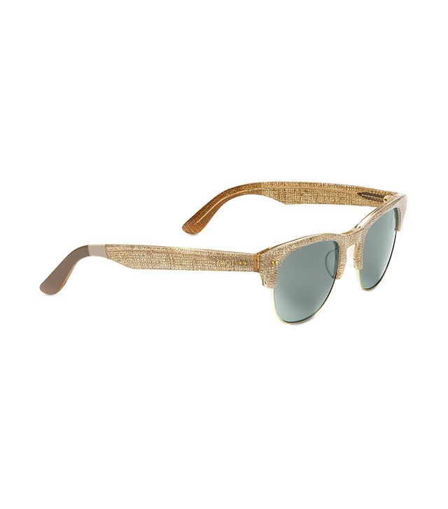 Toms Lobamba Glitter Burlap Sunglasses