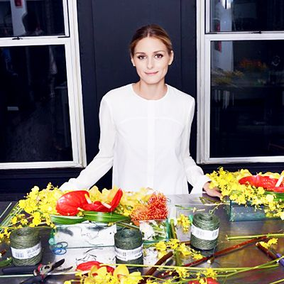 Learn the Art of Flower Arranging With Olivia Palermo